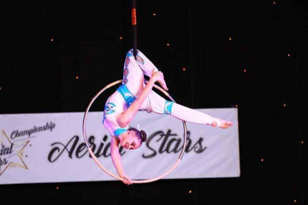 Александрийка завоевала золото на чемпионате по воздушной акробатике