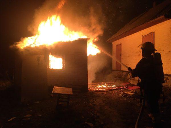 В Новой Праге и Марто-Ивановке горели дома