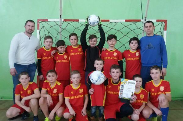 Состоялся первый этап соревнований «Школьная футзальная лига»