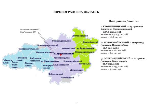 Александрийский район будет состоять из 12 общин?