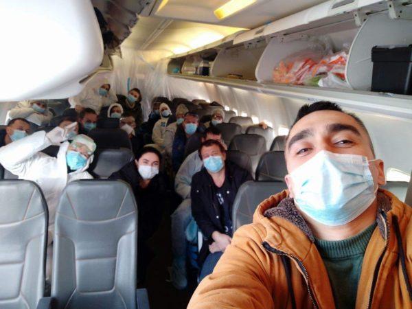 Среди эвакуированных из Уханя есть жители Кировоградской области