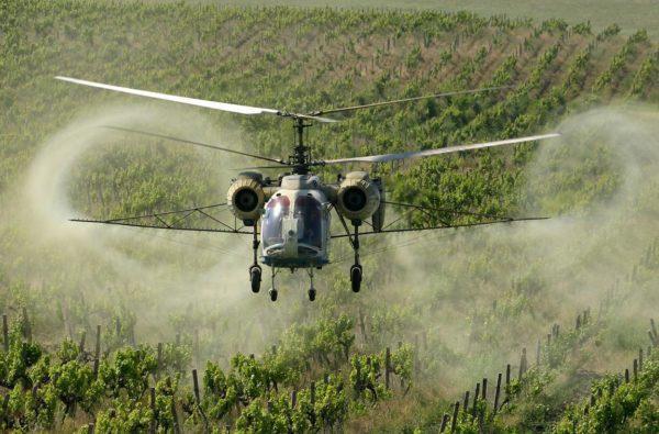 Александрийцам рассылают сообщения о дезинфекции с вертолета