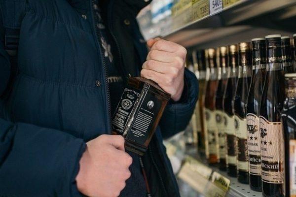 В александрийских магазинах воруют виски и духи