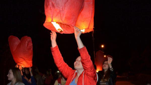 В Александрии прошла акция памяти жертв СПИДа