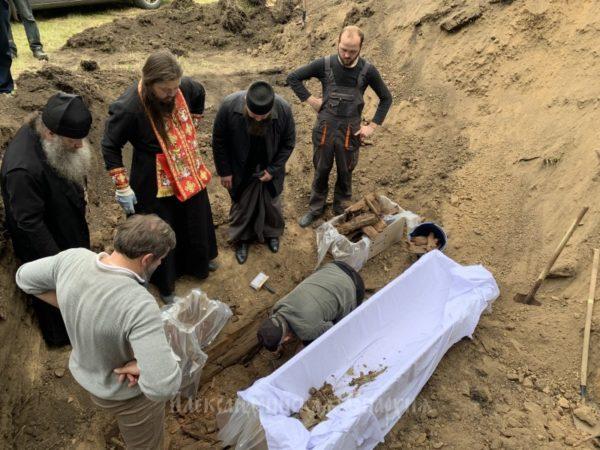 В Александрийском районе нашли останки иерея убитого в 1919 году