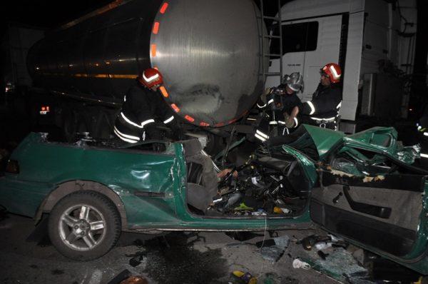 В Кировоградской области в ДТП погибли три мужчины и женщина