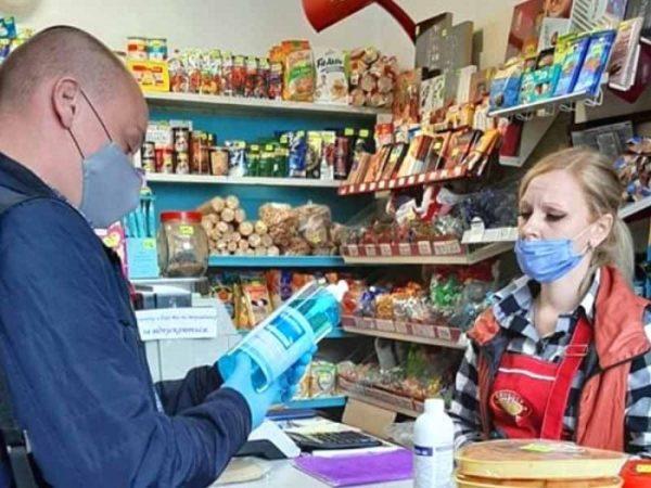 В александрийских магазинах зафиксировали нарушения карантинных норм