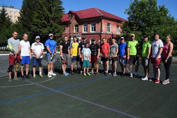 Александрийские военные соревновались в теннисном турнире