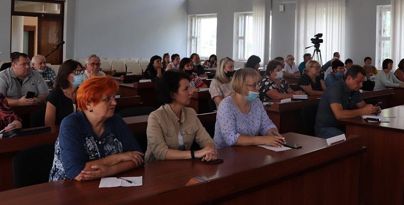 В Александрии представили советника по вопросам развития ОСМД