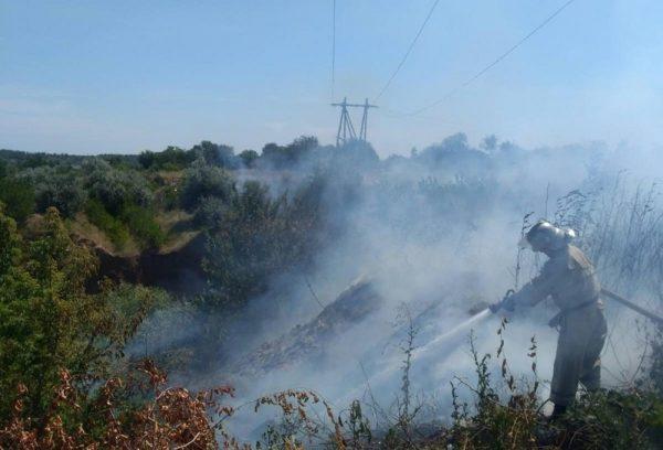 За сутки в Александрии произошло два пожара