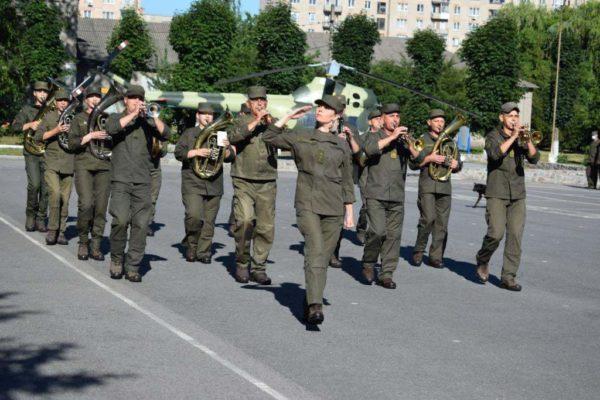 Сегодня в Александрии отметили 28-ю годовщину создания военной части 2269 НГУ