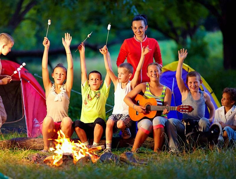С 1 августа в Кировоградской области будут работать два детских лагеря