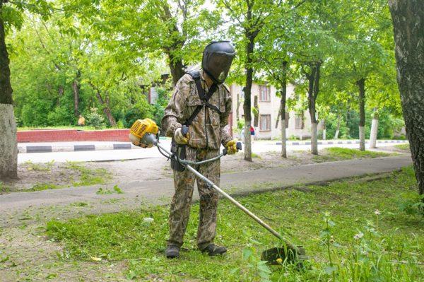 В Александрии требуются 4 работника по уборке территорий и косари