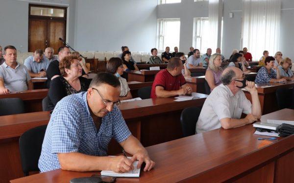 Председатели консультировались у специалистов, как решить проблемы ОСМД