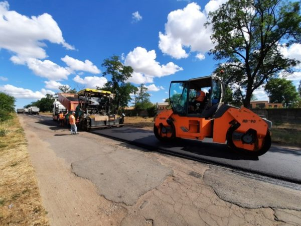 В Александрийском районе ремонтируют дорогу за 10 миллионов гривен (ФОТО)