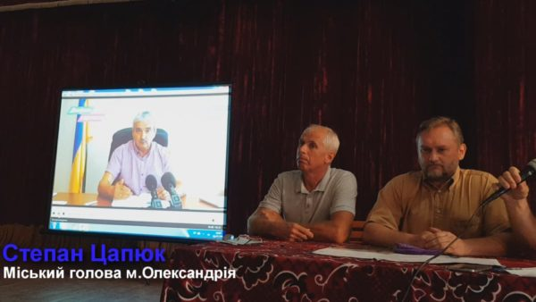 В Пантаевке состоялось собрание жителей относительно высказываний Степана Цапюка