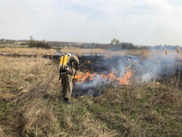 В Александрийском районе произошло несколько пожаров (ФОТО)