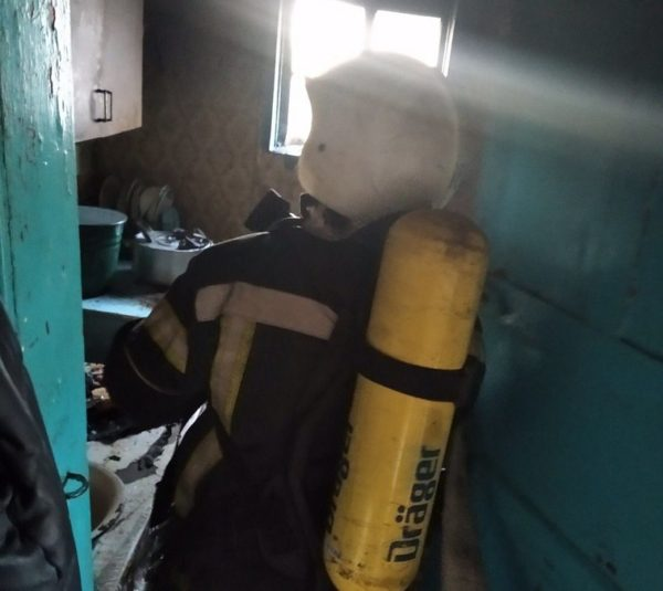 Сегодня ночью в одном из домов загорелся холодильник