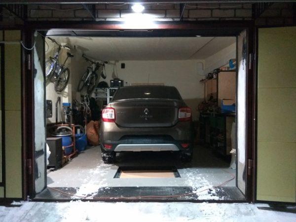 Угнанный автомобиль нашли в одном из гаражных кооперативов Александрии
