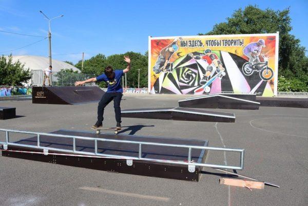 В Александрии планируют открыть скейт-парк в сентябре