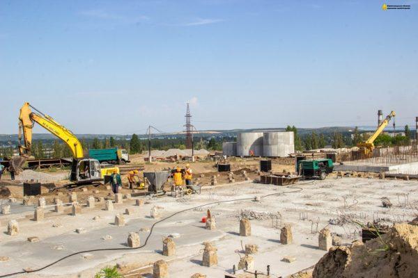 Реконструируют водоочистную станцию, которая обеспечивает питьевой водой александрийцев