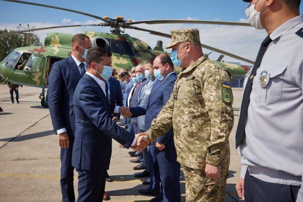 Зеленский в Кропивницком представил нового голову Кировоградской ОГА