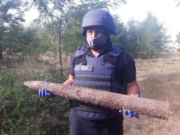 Жители Александрийского района в огородах обнаружили боеприпасы (ФОТО)