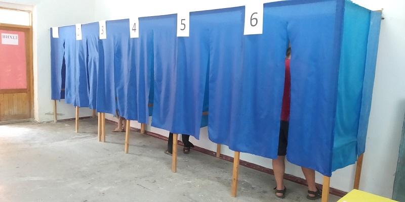 Члены Александрийской территориальной избирательной комиссии распространяют политическую агитацию
