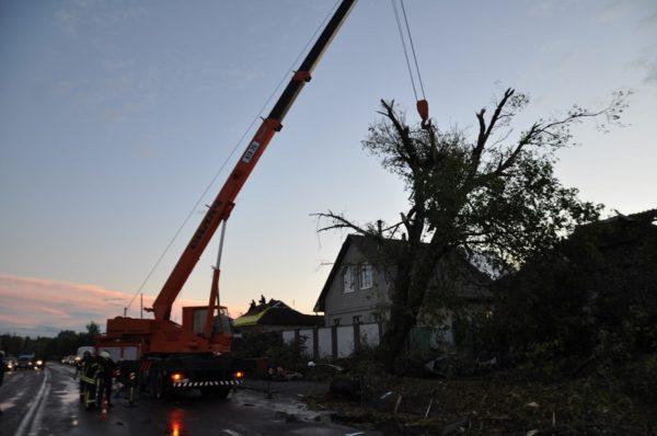 В Кировоградской области ураган снес крыши 100 домов, а сильной дождь затопил дома Александрии (ФОТО/ВИДЕО)