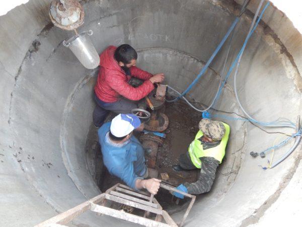 В Александрии заканчивают ремонтные работы на сетях водоснабжения (ФОТО)