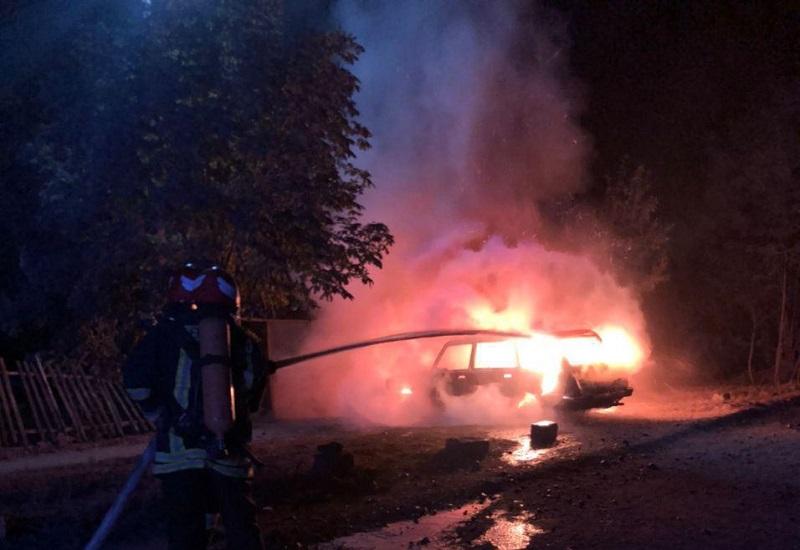 В Александрии на улице Сокальского горел Volkswagen