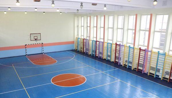 В трех александрийских школах отремонтировали спортзалы (ФОТО)
