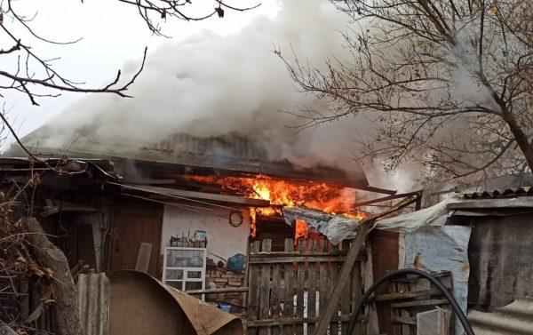 В Александрии горел жилой дом (ФОТО)