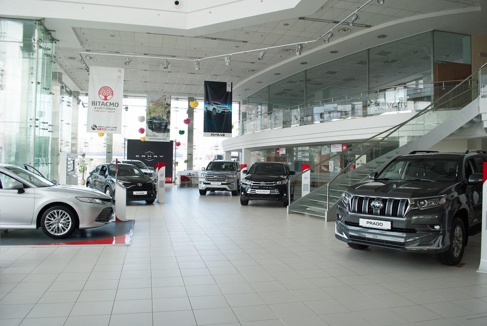 Тойота от официального дилера в Киеве: широкий выбор моделей и выгодные цены