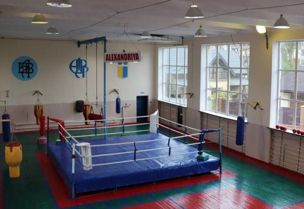 В ДК «Светлопольский» отремонтировали спортивный зал для тренировок боксеров