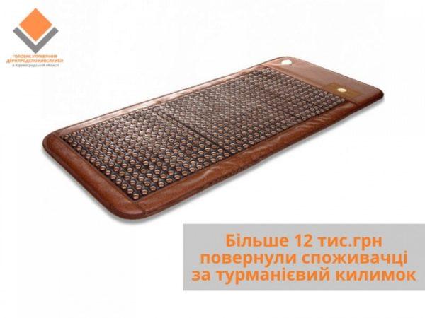 С помощью специалистов александрийке вернули более 12 тыс. грн за неиспользованный товар