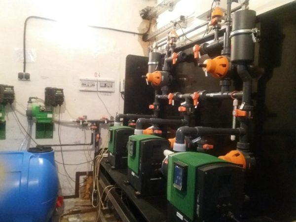 В Александрии будут работать два мини-завода по производству реагента для очистки питьевой воды (ФОТО)