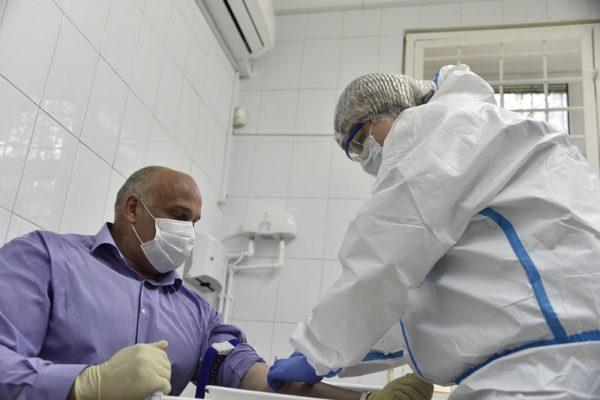 547 работникам Александрийской городской больницы сделали ИФА-тесты