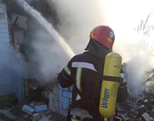 В Александрии во время тушения пожара обнаружили тело 47-летнего мужчины