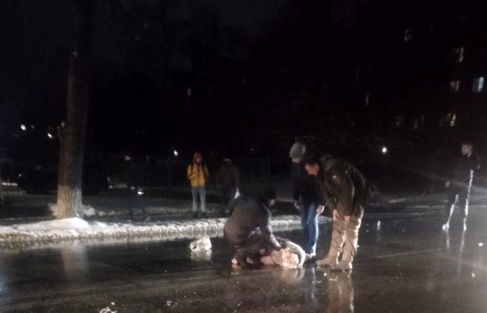 В Александрии водитель сбил пешехода и скрылся с места ДТП