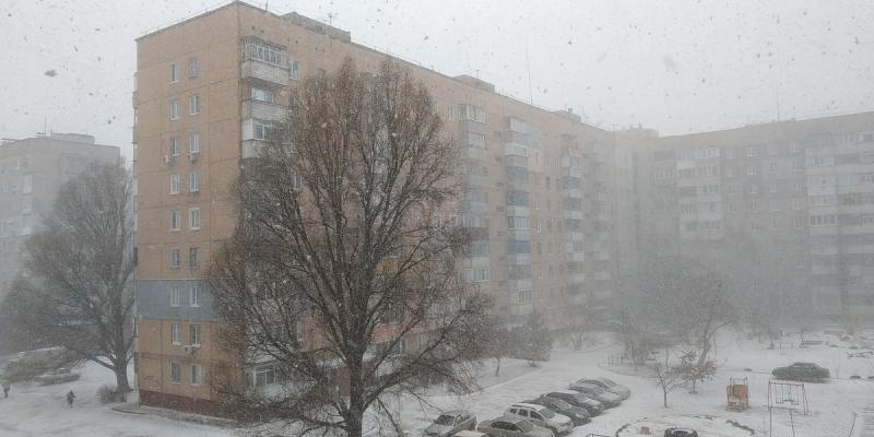 В Кировоградской области прогнозируют снег