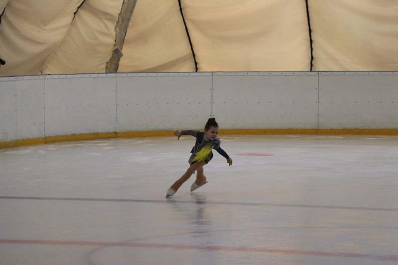 На александрийском катке состоялись первые соревнования (ФОТО)