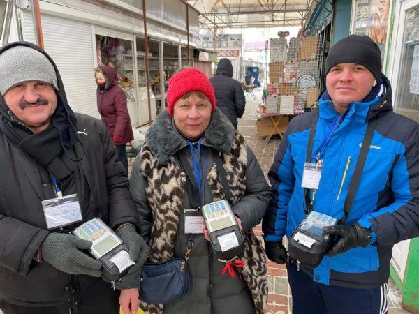 Для контролеров Центрального рынка купили три кассовых аппарата на сумму 22 тыс. грн