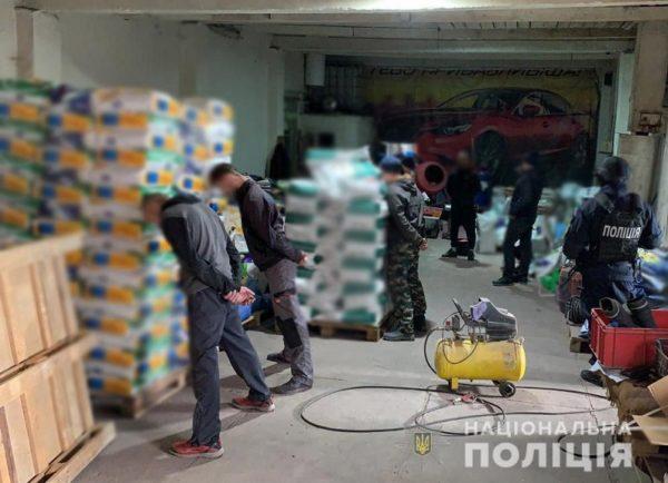 В Кировоградской области разоблачили группу, которая продавала поддельный товар под марками известных производителей