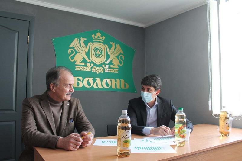 Городской голова Александрии Сергей Кузьменко посетил предприятие «Оболонь» (ФОТО)
