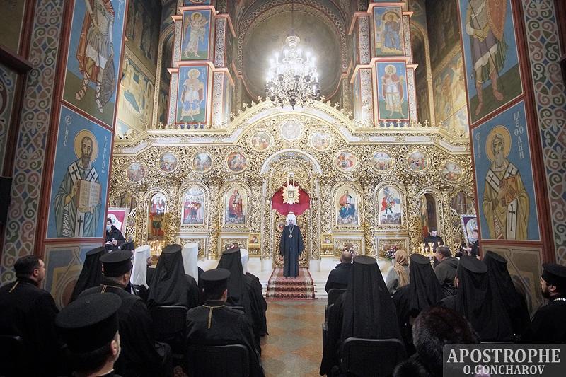 Михайловский Златоверховый собор наградил юбилейной наградой Владу Молчанову