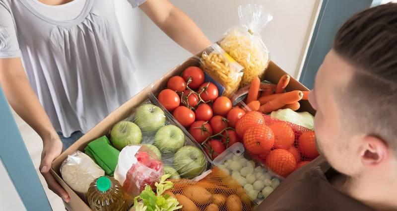 Особенности доставки продуктов на дом