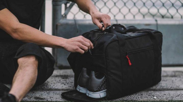 Мужские спортивные сумки – воплощение образа, характера и драйва