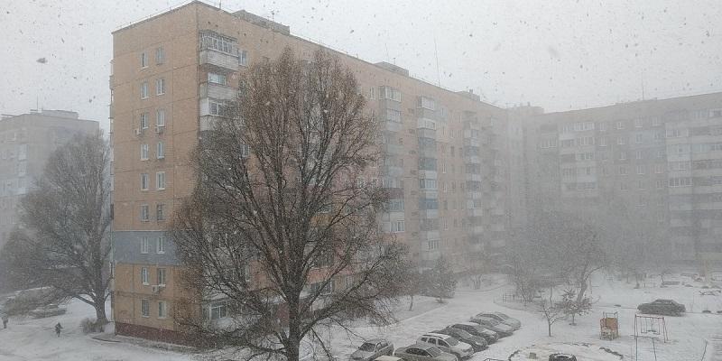 Штормовое предупреждение в Кировоградской области