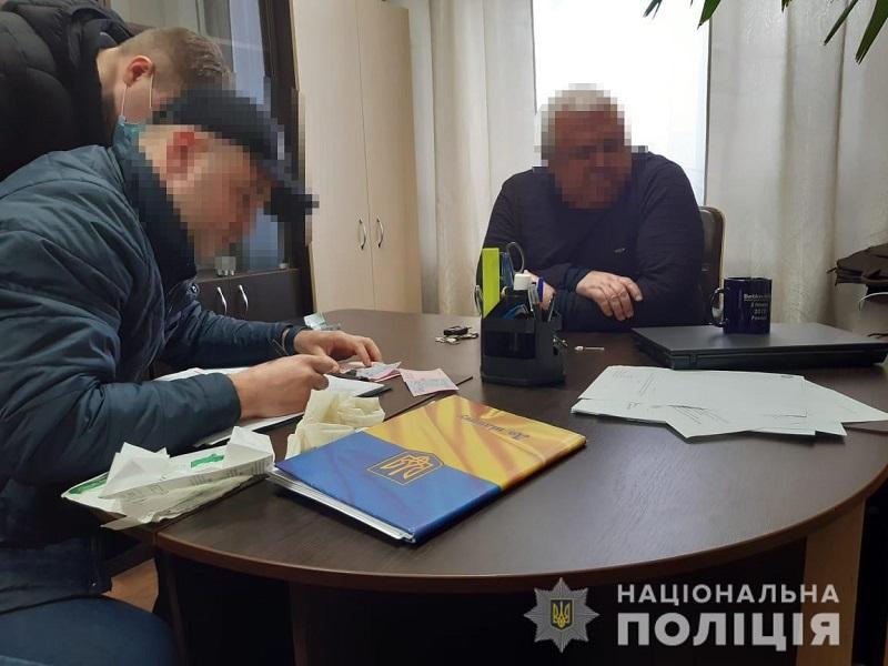 На получении взятки задержали работника государственного агентства рыбного хозяйства в Кировоградской области (ФОТО)